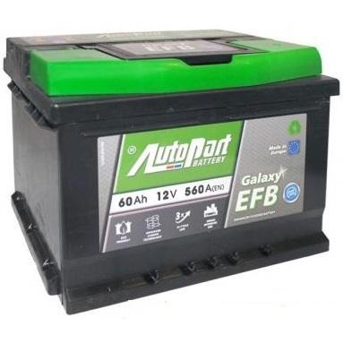 Аккумулятор Autopart EFB 600, арт. EFB600