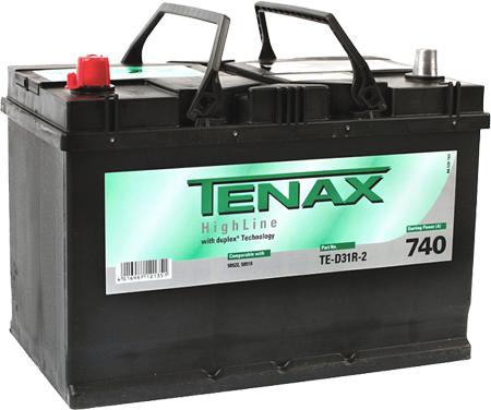 Аккумулятор Tenax TE-D31R-2, арт. TE-D31R-2