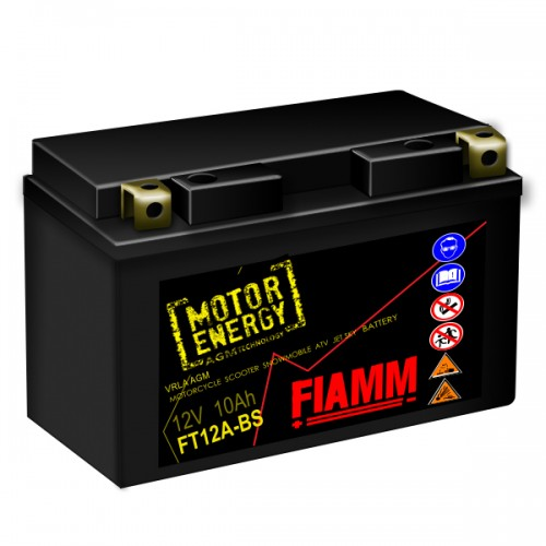 Аккумулятор Fiamm FT12A-BS, арт. 7904485