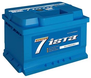 Аккумулятор Ista 6СТ-60А2HЕ, арт. 6СТ-60А2HЕ