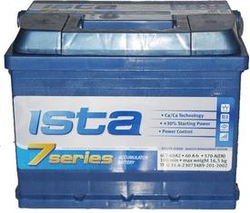 Аккумулятор Ista 6СТ-60А2Е, арт. 6СТ-60А2Е