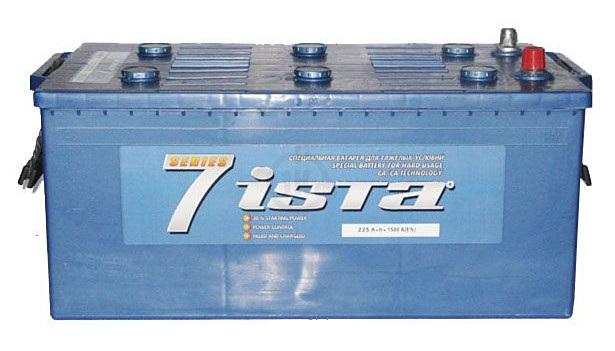 Аккумулятор Ista 6СТ-225А1, арт. 6СТ-225А1