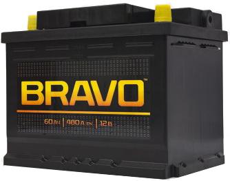 Аккумулятор Bravo 6СТ-60, арт. 6СТ-60VL 0