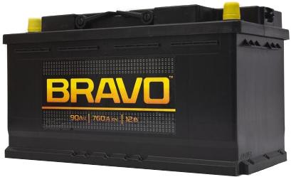 Аккумулятор Bravo 6СТ-90, арт. 6СТ-90VL 0