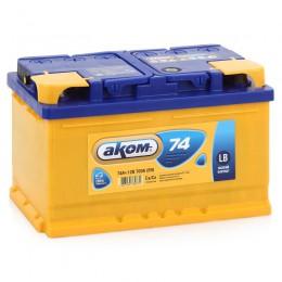 Аккумулятор Аком 6СТ-74 низкий, арт. 6СТ-74VL 0 LB