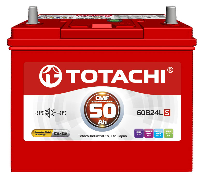 Аккумулятор Totachi 60B24LS, арт. 4589904929755