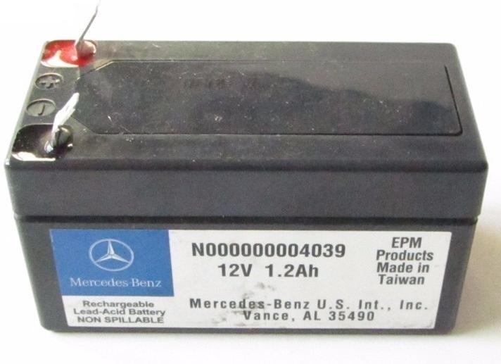 Аккумулятор Mercedes-Benz N000000 004039, арт. N000000 004039