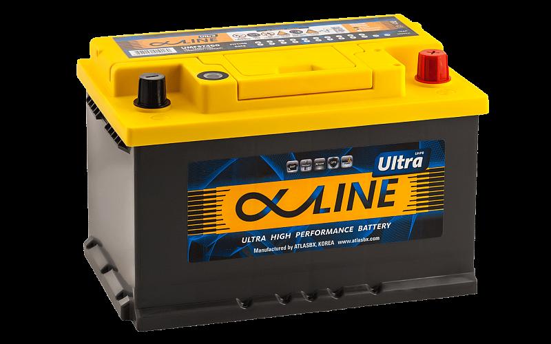 АккумуляторAlphaline ULTRA 74.0 LB3, арт. 57400