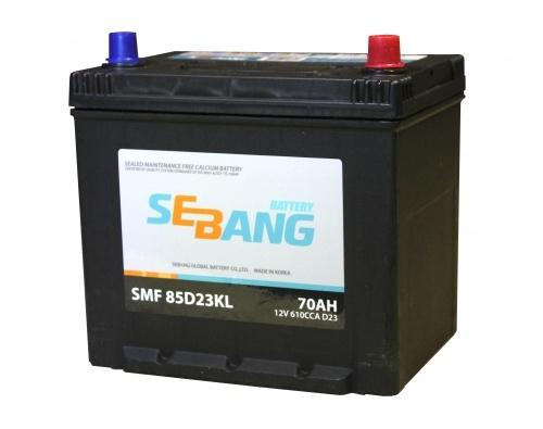 Аккумулятор Sebang SMF 85D23KL, арт. SMF 85D23KL