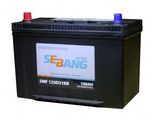 Аккумулятор Sebang SMF 125D31KR, арт. SMF 125D31KR