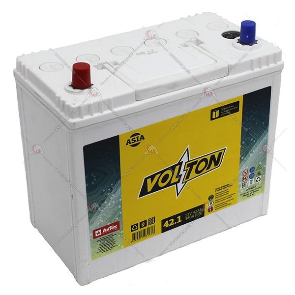 Аккумулятор Volton 6СТ-42.1, арт. 6CT421ASIA