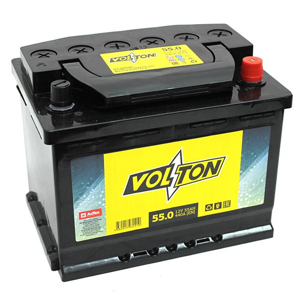 Аккумулятор Volton 6СТ-55.0, арт. 6СТ-55.0