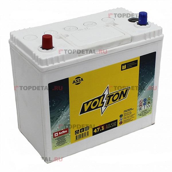 Аккумулятор Volton 6СТ-47.1, арт. 6CT471ASIA
