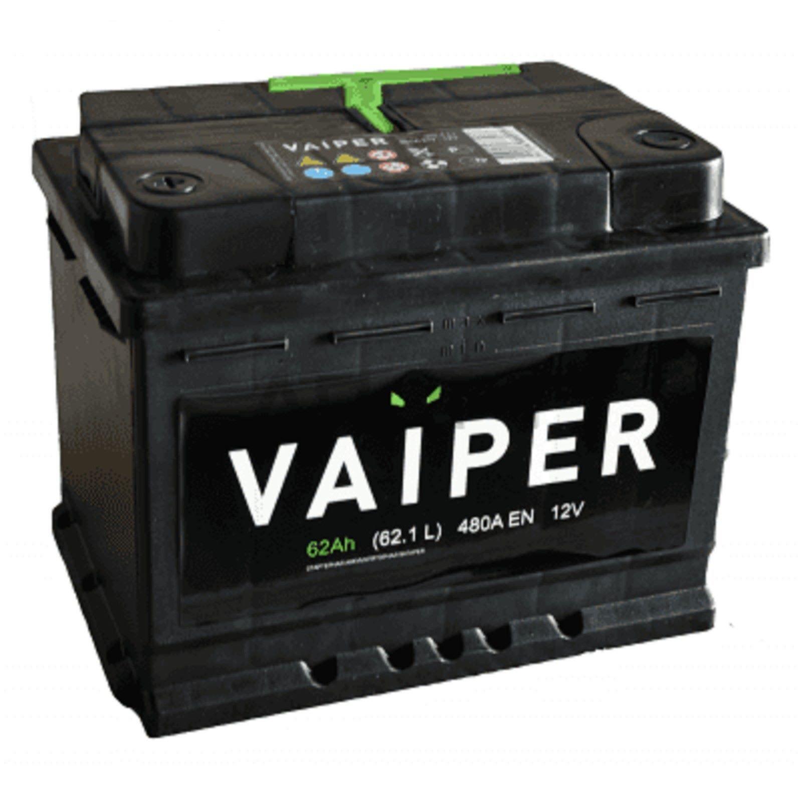 Аккумулятор Vaiper 6СТ-62.1, арт. 6СТ-62.1