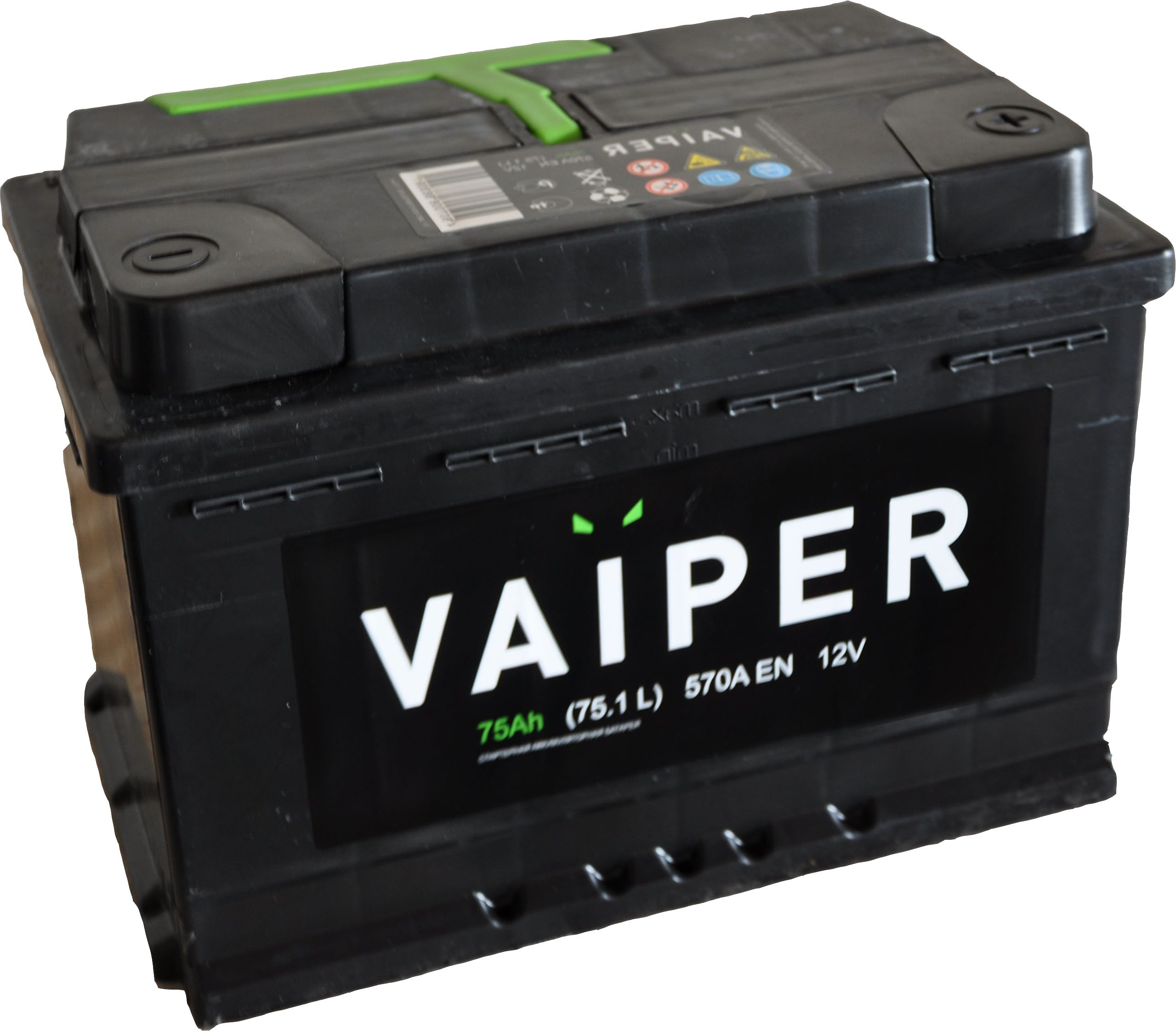 Аккумулятор Vaiper 6СТ-75.1, арт. 6СТ-75.1