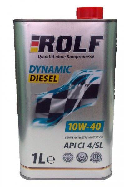 Масло моторное полусинтетическое Rolf