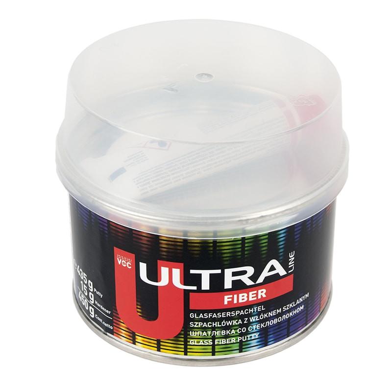 Шпатлевка полиэфирная NOVOL ULTRA II FIBER 0,45кг