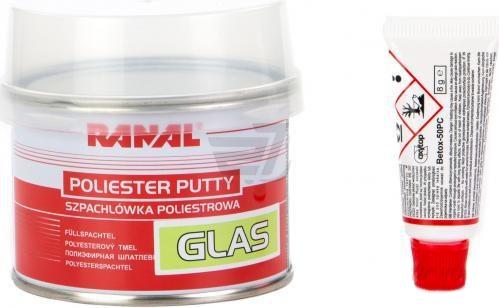 Шпатлёвка со стекловолокном RANAL GLAS 0,5 кг
