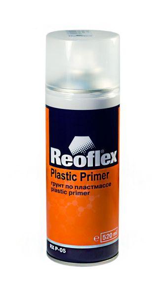 Грунт по пластмассе REOFLEX 1К 520мл, прозрачный