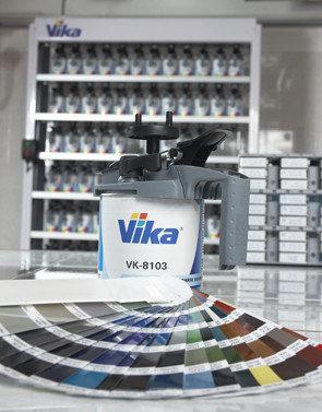 Цветовая документация VIKA Color Box