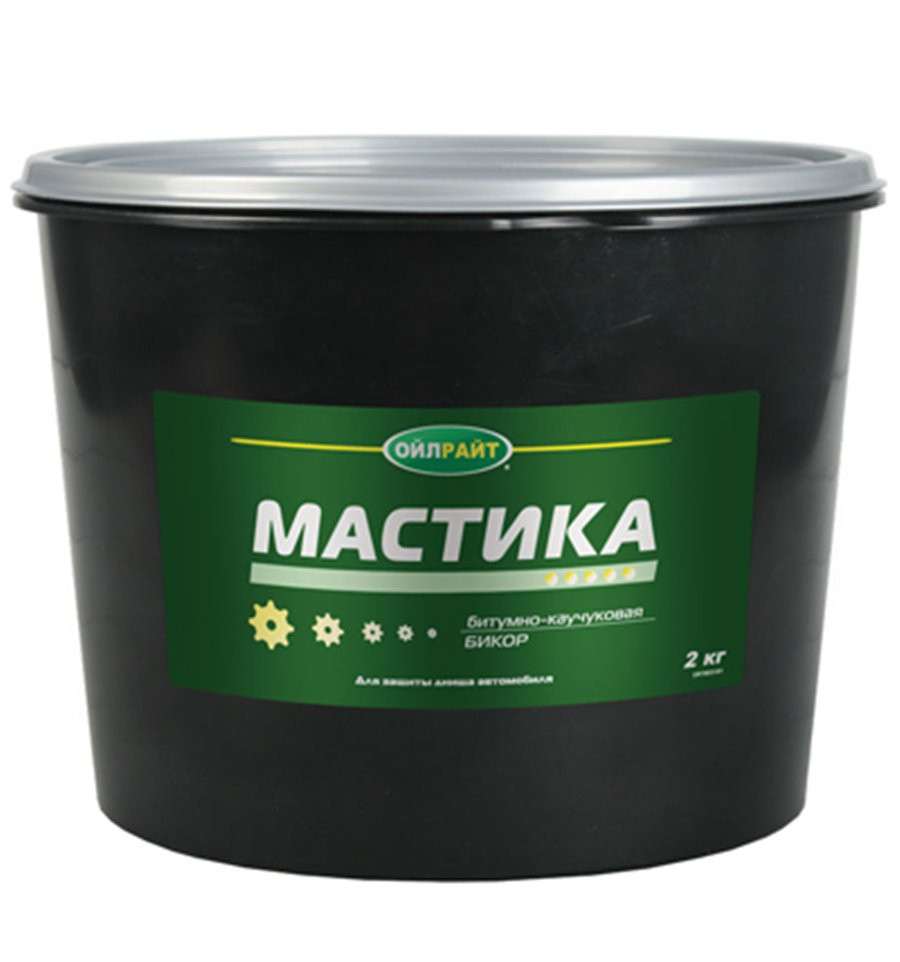 Мастика Бикор OIL RIGHT, 2кг