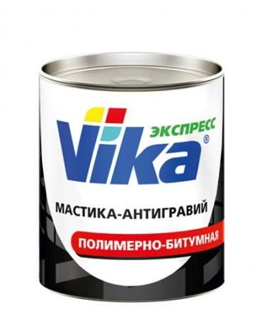 Мастика-антигравий полимерно-битумная VIKA, 1 кг