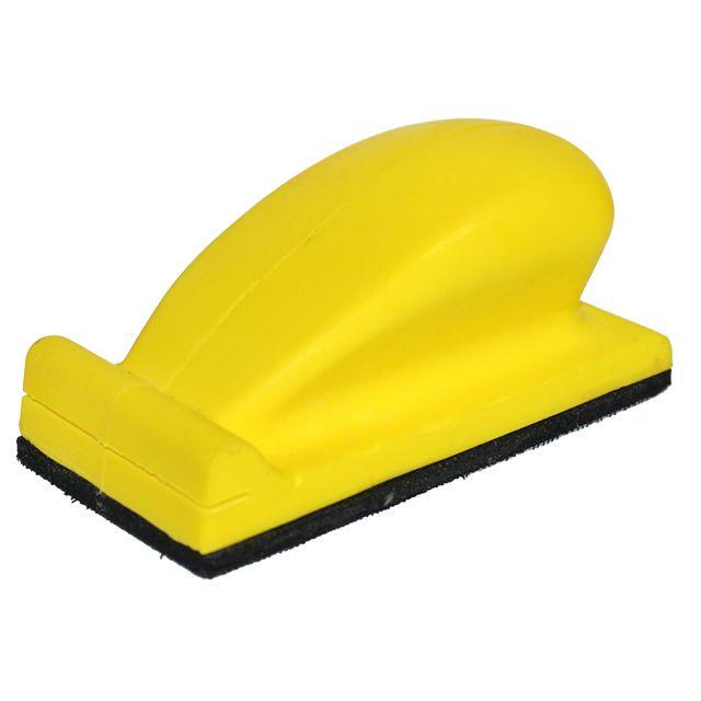 Блок шлифовальный HOLEX HAT-1941, мягкий, без липучки, 70*125мм
