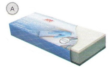 Брусок пенный APP A, 210*75мм