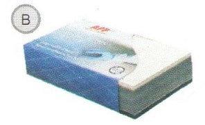 Брусок пенный APP B,140*75мм