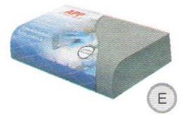 Брусок пенный APP E, 135*75* R20 мм