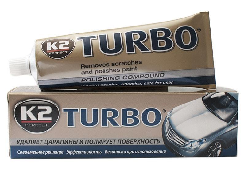 Паста для полировки K2 TURBO TEMPO K021, 120г