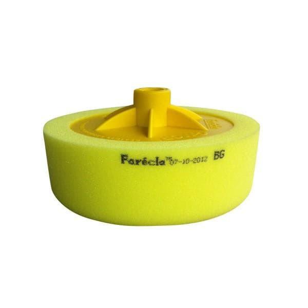 Полировочный круг на резьбе FARECLA SGM-AG614, желтый