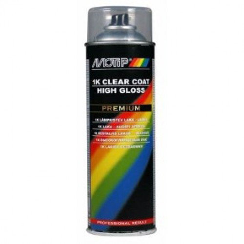 Лак MOTIP 04124 1K Clear Lacquer High Gloss, 500мл