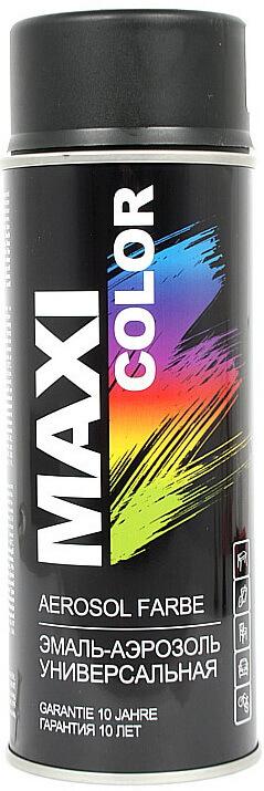 Эмаль MAXI COLOR RAL9005 черная матовая, 400мл