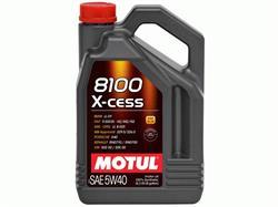 Масло моторное синтетическое MOTUL 8100 X-CESS 5W-40, 4л