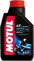 Масло моторное минеральное MOTUL 3000 4T 10W-40, 1л