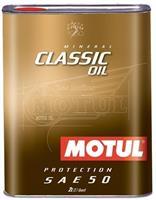 Масло моторное минеральное MOTUL CLASSIC OIL 50, 2л