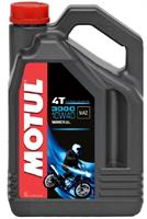 Масло моторное минеральное MOTUL 3000 4T 10W-40, 4л