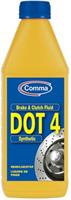 Жидкость тормозная dot 4, BRAKE FLUID, 1л