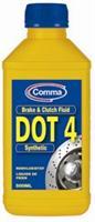 Жидкость тормозная dot 4, BRAKE FLUID, 0.5л