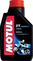 Масло моторное минеральное MOTUL 100 MotoMix 2T, 1л
